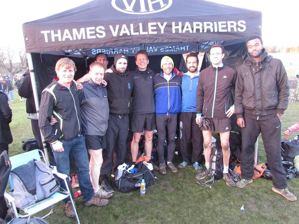 Valley Men rejoice after finishing the hill