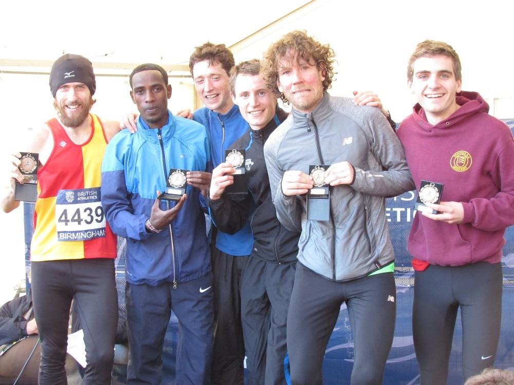 Inter Counties XC 2015 Middlesex Men Bronze Medals
